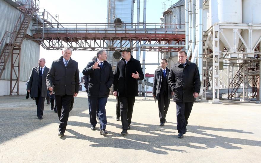 Варгашинском элеваторе за 3 дня элеватор доставили 651 т зерна
